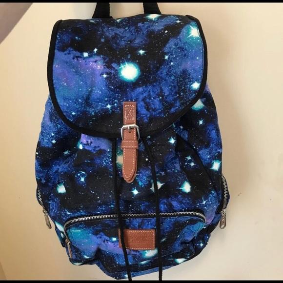 ea14121799dc Victoria's Secret PINK Galaxy Backpack RARE